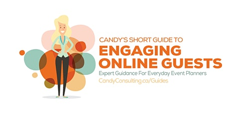 Candy's Short Guide to Engaging Online Guests tickets