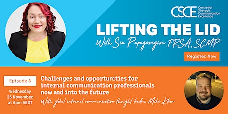 Challenges and opportunities for internal communication professionals tickets