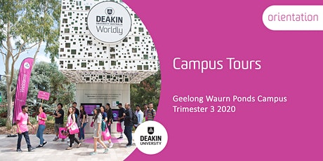 Trimester 3 Orientation - Geelong Waurn Ponds Campus Tours tickets