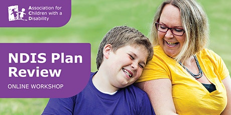 NDIS Plan Review Online - Wednesday 8pm