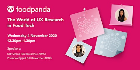 The World of UX Research in Food Tech tickets
