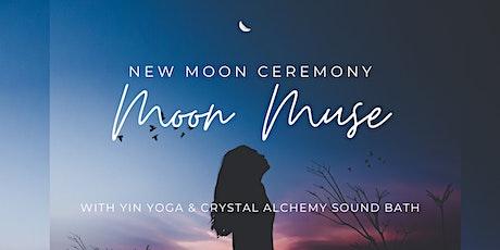 Moon Muse: New Moon Ceremony (yin yoga & sound bath) tickets