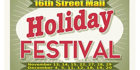 16th Street Mall Holiday Festival tickets
