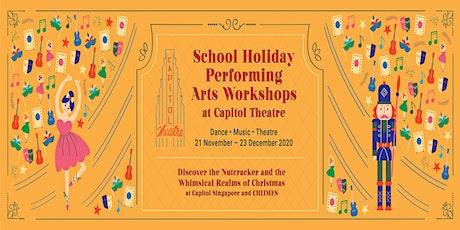 The Nutcracker Ballet 3-Half-Day Workshop (8-10 years) tickets