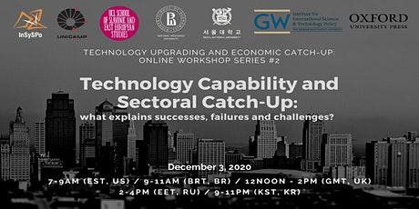 Technology Capability Upgrade and Sectoral Catch-Up (#2) tickets