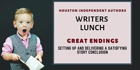 Writers Lunch: Great Endings tickets