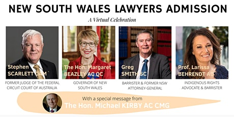 New South Wales Admission 2020  - A Virtual Celebration tickets