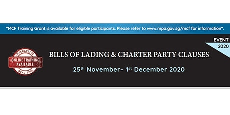 Bills of Lading and Charter Party Clauses tickets