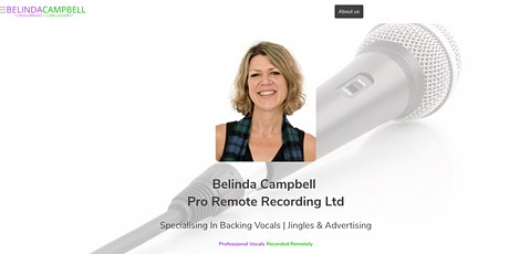 Belinda Campbell Pro Remote Recording Limited tickets
