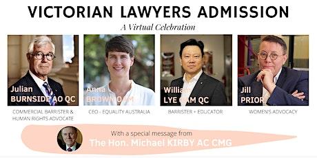 Victorian Admission 2020 - A Virtual Celebration tickets