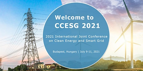 Joint Conference on Clean Energy and Smart Grid (CCESG 2021) tickets