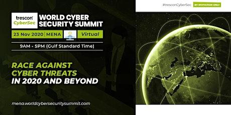 World Cyber Security Summit - MENA tickets