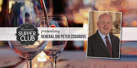 Literary event with Sir Peter Cosgrove tickets
