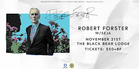 Robert Forster & Seja tickets