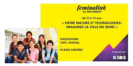 Hackathon kids 100% digital billets