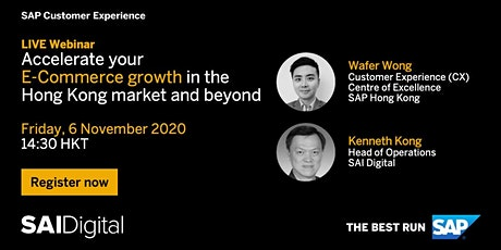 [Cantonese] Accelerate your eCommerce growth in the Hong Kong market tickets