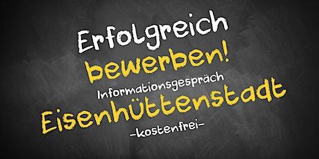 Bewerbungscoaching Online kostenfrei - Infos - AVGS Eisenhüttenstadt Tickets