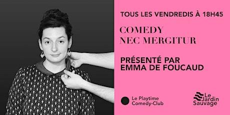 Comedy Nec Mergitur : Un plateau d'Humour qui résiste ! billets