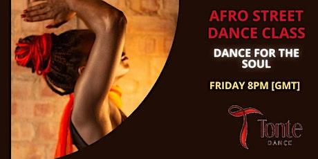 Online Afro Street Dance Class tickets