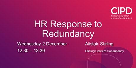 HR Response to Redundancy tickets