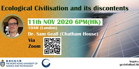 Ecological Civilisation and its discontents tickets