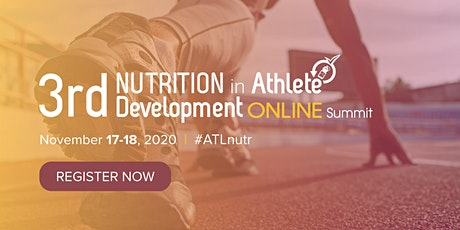 3rd Nutrition in Athlete Development Summit tickets