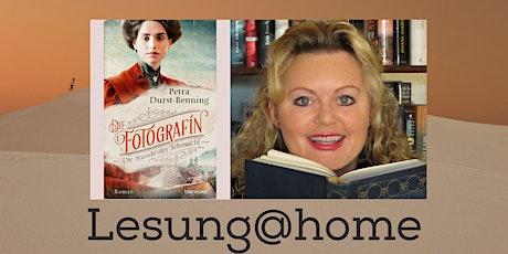 """Lesung@home """"Die Fotografinnen-Saga"""" - der Zauber von einst Tickets"""