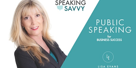 Public Speaking for Business Success SOLD OUT tickets