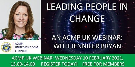 Leading People in Change tickets