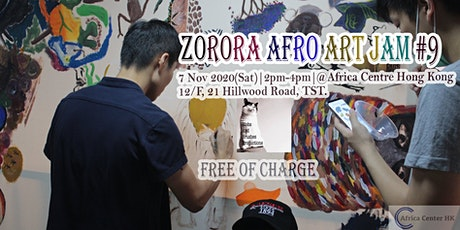 Zorora Afro Art Jam #9 tickets
