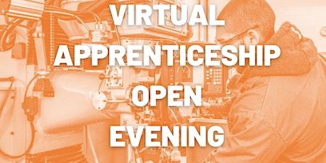 Virtual Apprenticeship Open Evening tickets
