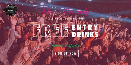 """Every FRI""  Free Entry + Drinks before 12:30 AM (Nov - Dec only!) tickets"