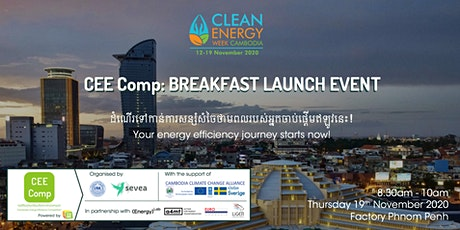 Cambodia Energy Efficiency Competition: Breakfast Launch Event tickets