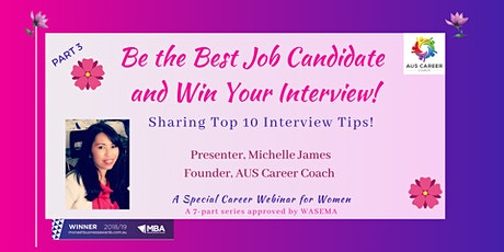 Win Your Interview & Top 10 Interview Tips! tickets