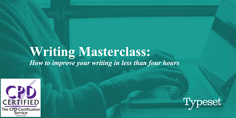 Masterclass: How to improve your writing in less than four hours (PERTH) tickets