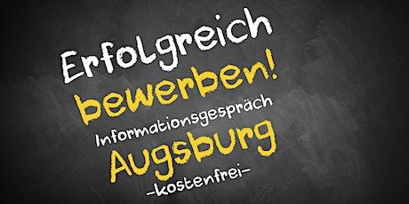 Bewerbungscoaching Online kostenfrei - Infos - AVGS Augsburg Tickets