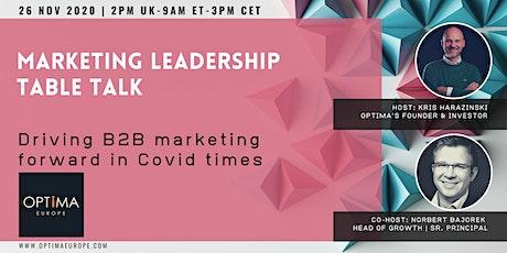 Marketing Leadership Table Talk tickets