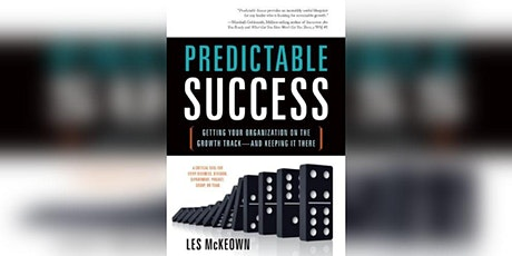 Book Review & Discussion : Predictable Success tickets