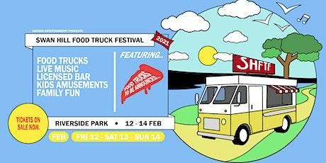Swan Hill Food Truck Festival 2021 tickets