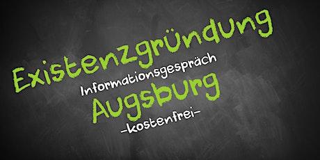 Existenzgründung Online kostenfrei - Infos - AVGS Augsburg Tickets