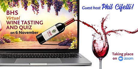 Boroughmuir High School Virtual Wine Tasting & Quiz  2020 tickets