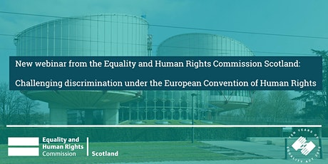 Challenging discrimination under the European Convention on Human Rights tickets
