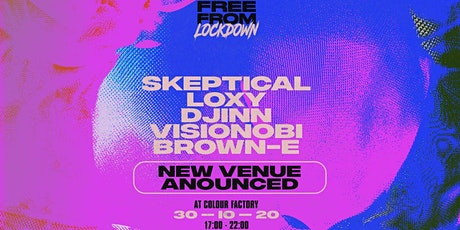 Extra Tickets - Free From Lockdown: Halloween w/ Skeptical tickets