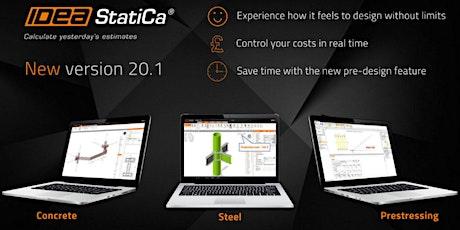 IDEA StatiCa Steel Connections versie 20.1 tickets