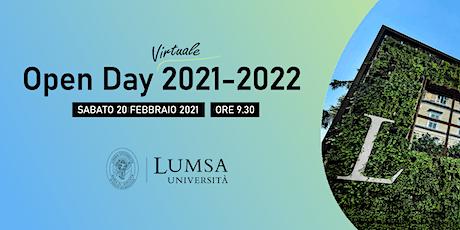 Open Day Virtuale - Università LUMSA - Sedi di Roma e Palermo biglietti