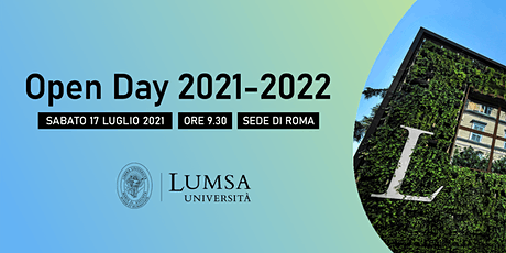 Open Day di Orientamento - Università LUMSA - Sede di Roma Tickets