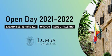 Open Day di Orientamento - Università LUMSA - Sede di Palermo biglietti