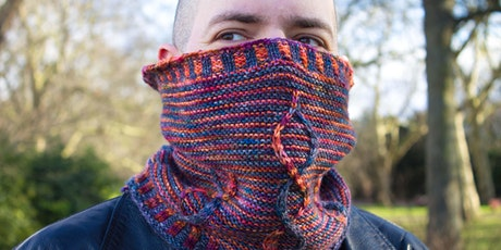 Knit your own cowl  (Design #3 - In Person or Online) tickets