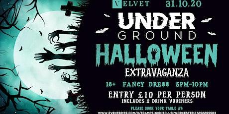 Velvet Underground Halloween Extravaganza tickets