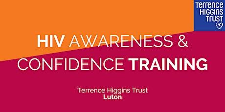 HIV Confidence & Awareness Training (Luton) tickets